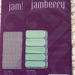 Chevron Jamberry nail wraps